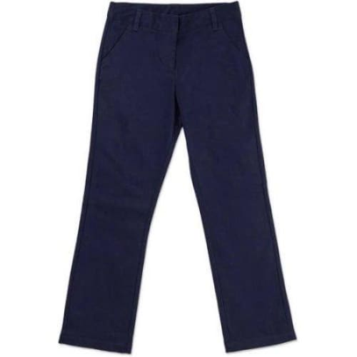 George Girls' School Uniforms, Flat Front Pant - Keuka Outlet
