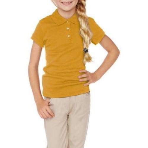 George Girls' School Uniforms Short Sleeve Polo Shirt - Keuka Outlet