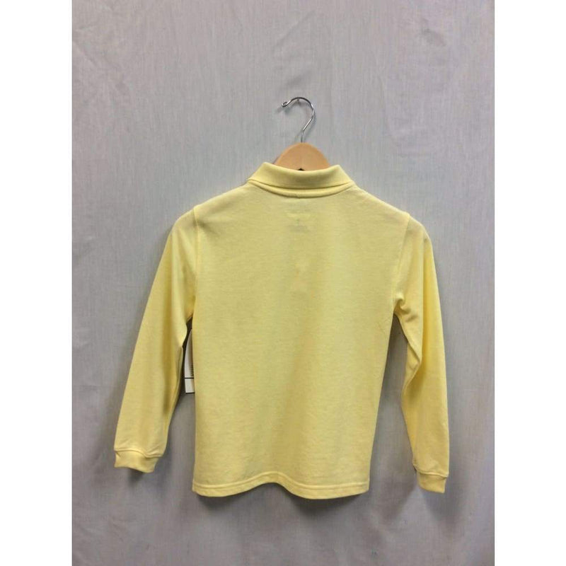 George yellow long sleeve polo - Keuka Outlet
