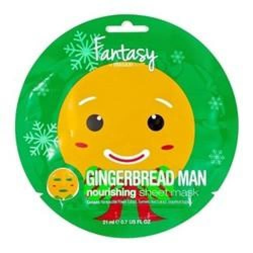 Ginger Bread Man Nourishing Sheet Mask - 0.70 fl oz - Personal Care