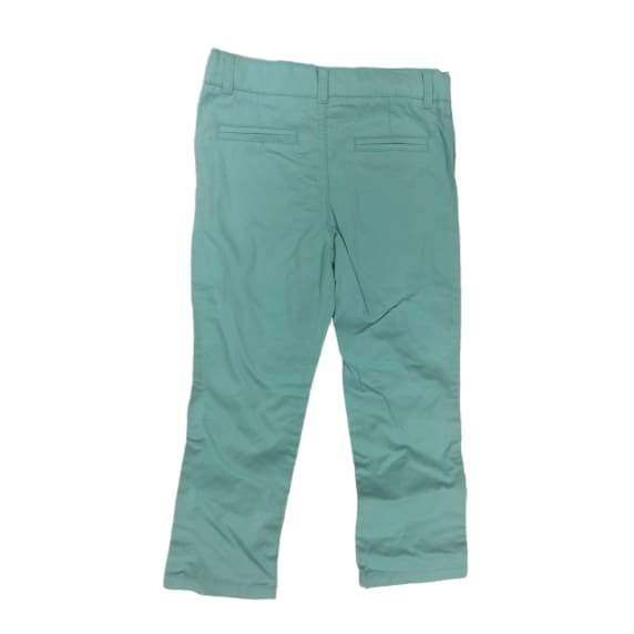Boys' Color Twill Pants - 4T / Mint - Clothing