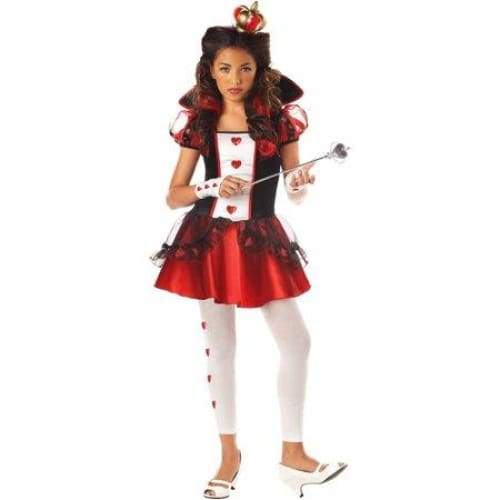 Girls Queen of Hearts Costume - Keuka Outlet