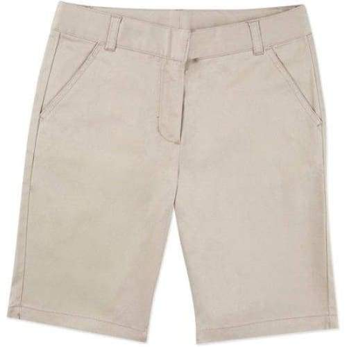 Girl's school uniform bermuda shorts - Keuka Outlet