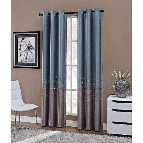 Horizon Grommet Lined Curtain Panel - Curtains