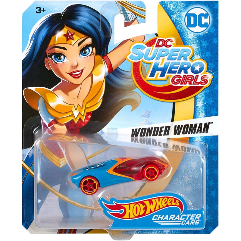 Hot Wheels DC Super Hero Girls Wonder Woman Vehicle - Toys