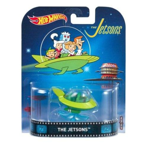 Hot Wheels The Jetsons Diecast Capsule Car - Toys
