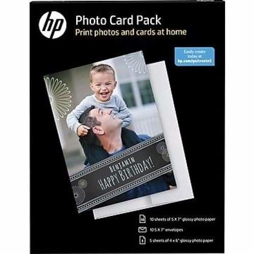 Hp - Photo Card Pack
