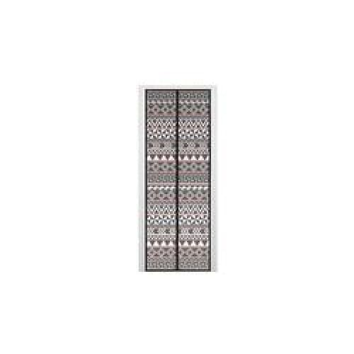 Instant Mesh Door/Magnetic Screen Door Aztec Print Multi-Color - Home Improvement