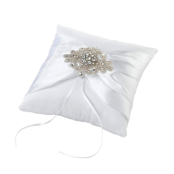 Lillian Rose Jeweled Motif Ring Bearer Pillow - Keuka Outlet