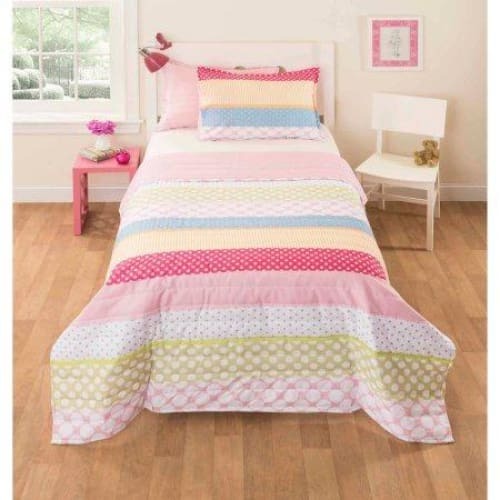 Mainstays Kids Pink Rally Bedding Comforter Set - Keuka Outlet
