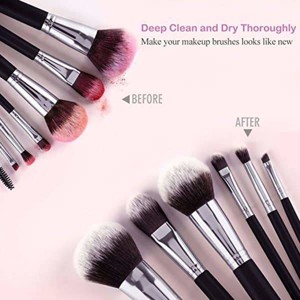Makeup Brush Cleaner and Dryer Bowl - Beauty