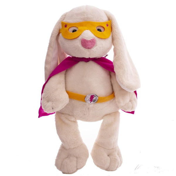 Manhattan Toy Dress Ups Superhero Bunny Stuffed Animal Toy - Keuka Outlet