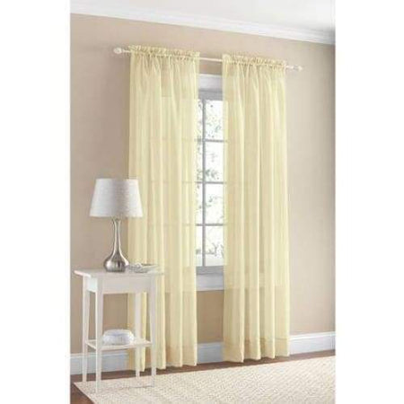Marjorie Sheer Voile Curtain Panel - Curtains