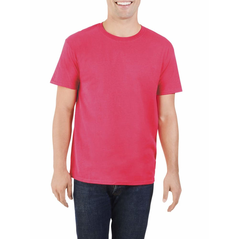 Men's & Big Men's UPF Crewneck T-Shirt - M / Watermelon Pink - Clothing