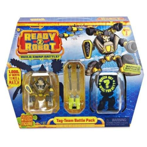 MGA Ready2Robot Tag-Team Battle Mini-dolls Playset Pack - Multi - Keuka Outlet