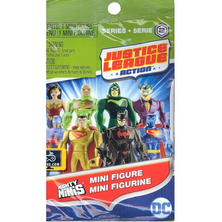 Mighty Minis - Justice League Series 2 - BLIND PACK (1 Mystery Mini Figure) - Toys
