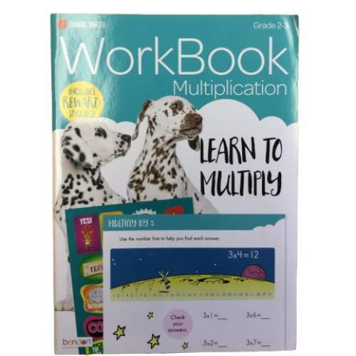 Multiplication WorkBook - Media