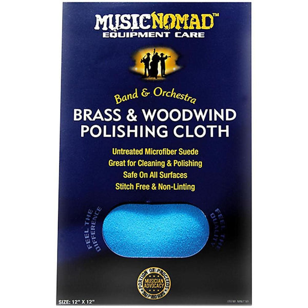 Music Nomad MN730 Brass and Woodwind Premium Microfiber Polishing Cloth - Keuka Outlet