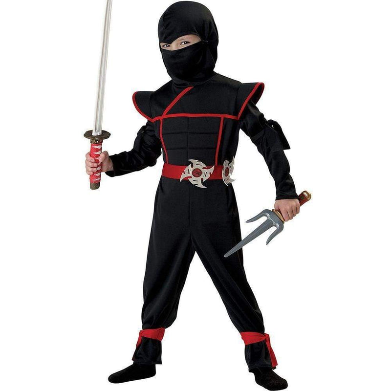 Ninja Stealth Child Halloween Costume - Keuka Outlet