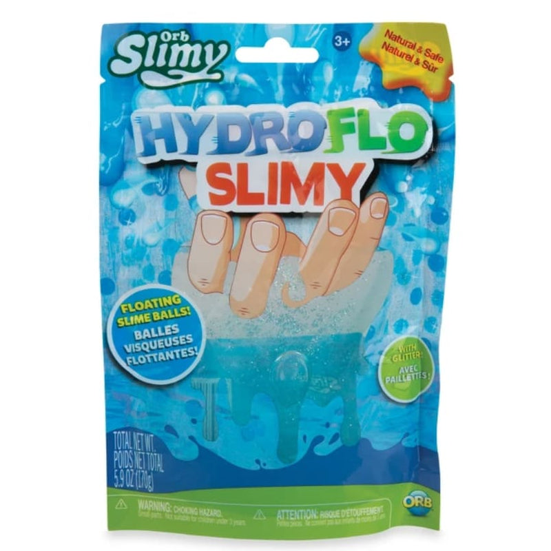 Orb Slimy Hydroflo Floating Slime Balls (Blue) - Toys