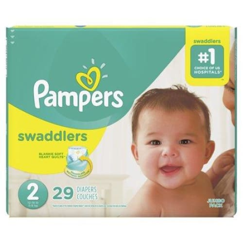 Pampers Pampers Swaddlers Diapers Size 2, 29 ct - Keuka Outlet