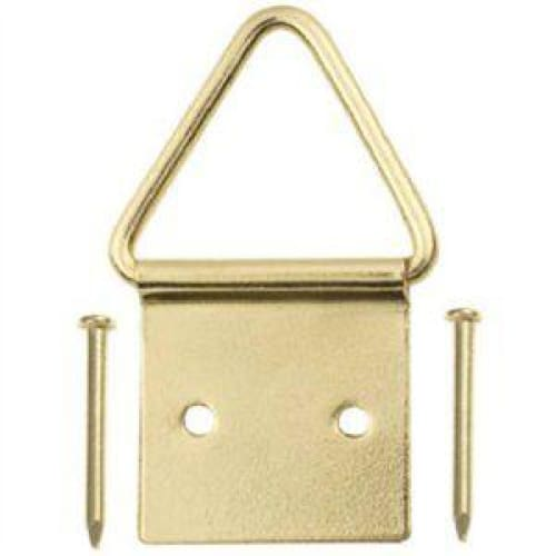 Picture Hangers Brass-Plated Ring Large 2-Pc. - Home Improvement