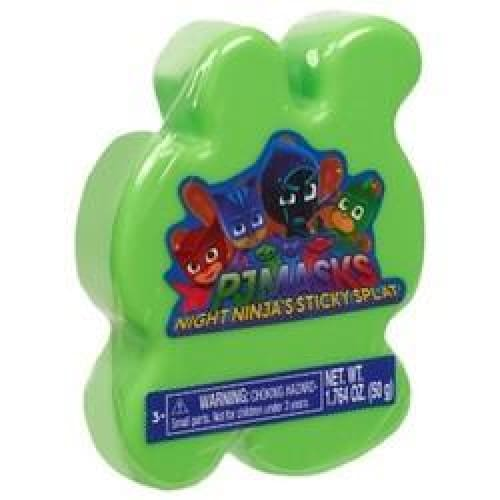 PJ Masks Sticky Splat Putty - Green - Keuka Outlet