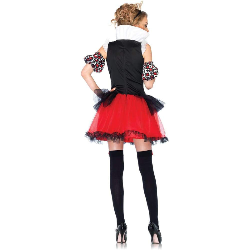 Playing Card Queen Adult Halloween Costume - Keuka Outlet