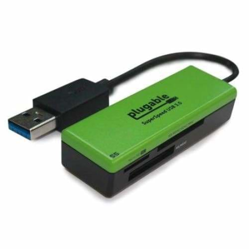 Plugable SuperSpeed USB 3.0 Flash Memory Card Reader - None