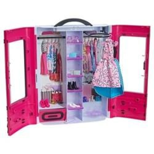 Portable Fashionistas Ultimate Closet - Pink - Keuka Outlet