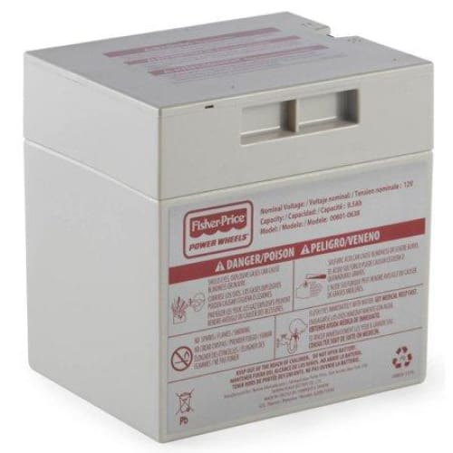Power Wheels 12-Volt Rechargeable Replacement Battery - Keuka Outlet