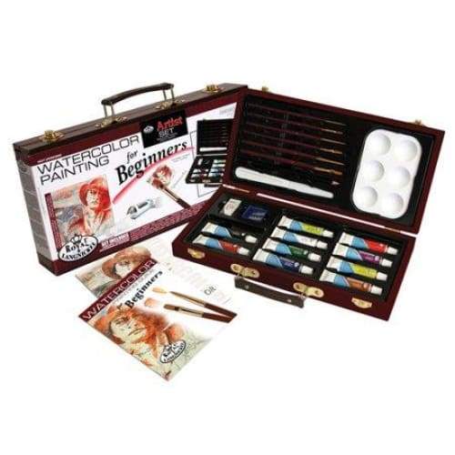 Royal & Langnickel Beginners Watercolor Box 24pc - Office/School/Craft Supplies