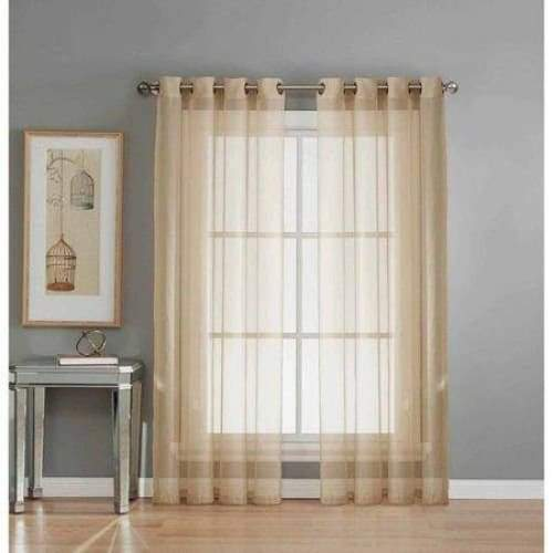Sheer Voile Curtain Panels - Curtains