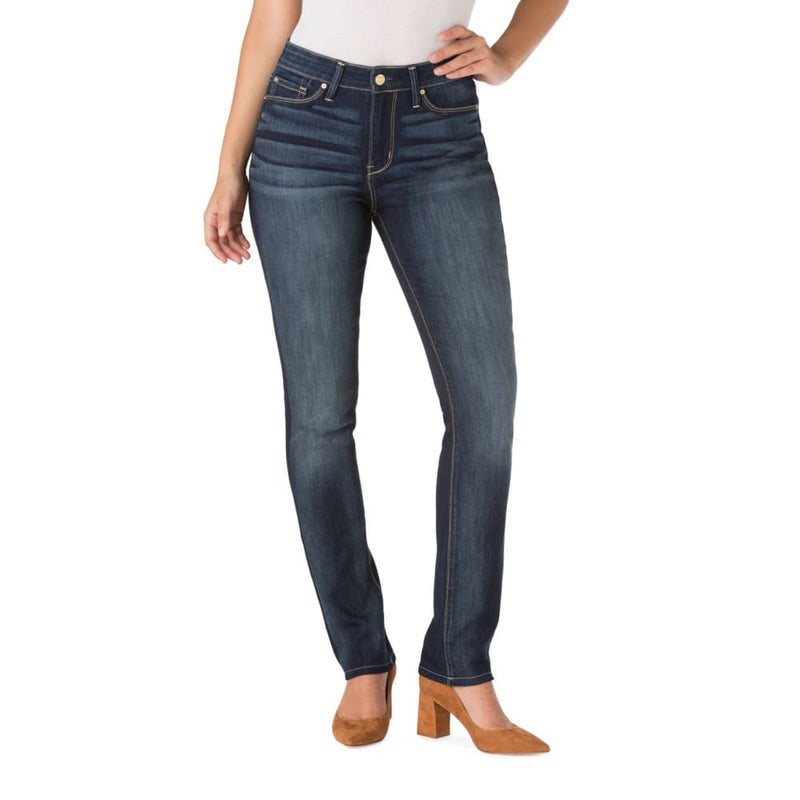 Signature by Levi Strauss & Co. Women's High Rise Slim Jeans - 14 / Dark Wash - Clothing