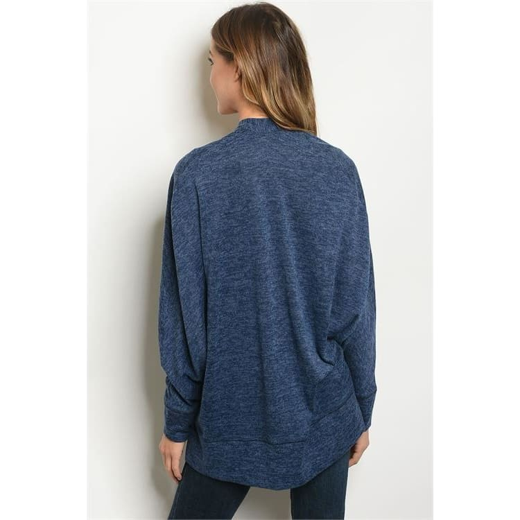 Slub Knit Cardigan (C10166) - Keuka Outlet