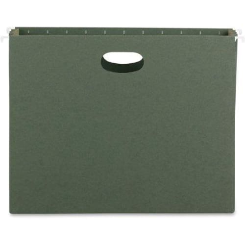 "Smead 10-Count Hanging File - Green (8.5""X11"") - Keuka Outlet"