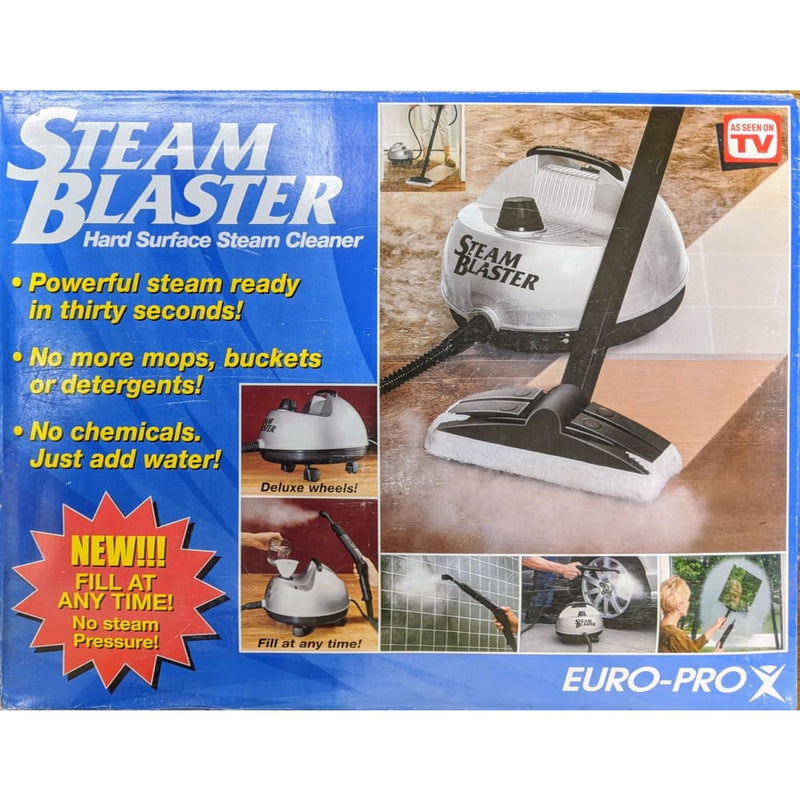 Steam Blaster Hard Surface Steam Cleaner - Home Improvement
