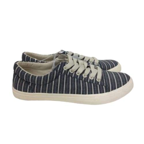 Striped Print Sneakers - Shoes