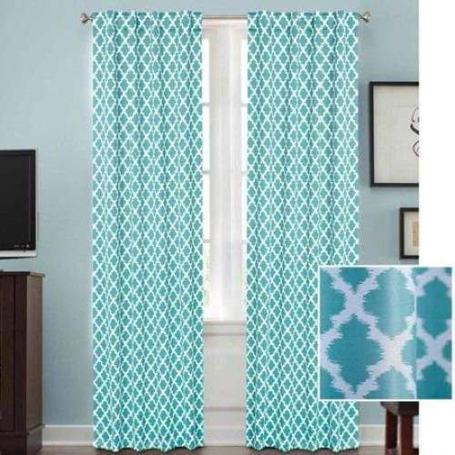 Tangier Thermal 99 Percent Light Blocking Curtain Panel - Curtains