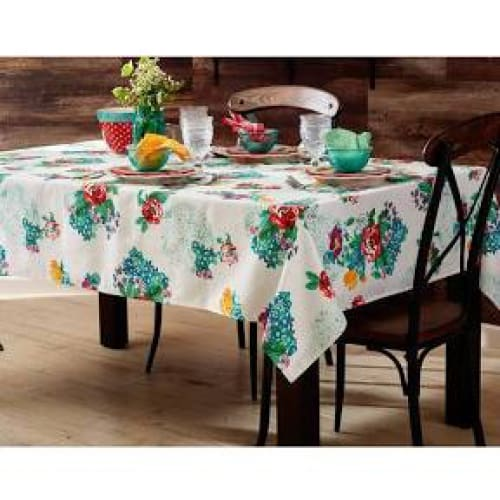 The Pioneer Woman Country Garden Tablecloth 52 x 70 - Kitchen