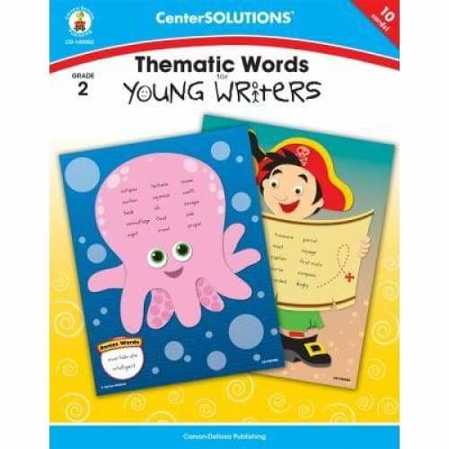 Thematic Words for Young Writers Grade 2 - Media