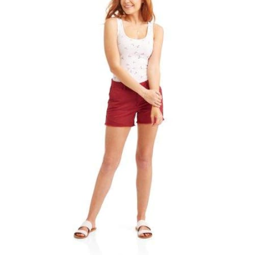 "Time and Tru Women's 4.5"" Shorts - Keuka Outlet"