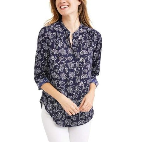 Time and Tru Women's Printed Soft Shirt - Keuka Outlet