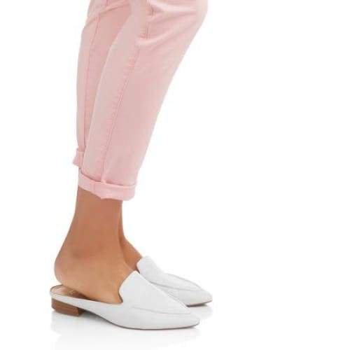 Time and Tru Women's Roll Cuff Cotton Stretch Chino Pant - Keuka Outlet