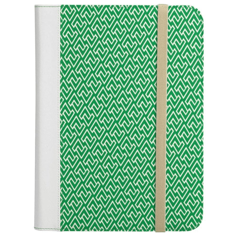 Universal Tablet Folio Case for 8.9 to 10.1 Tablets - Green / White - Electronics