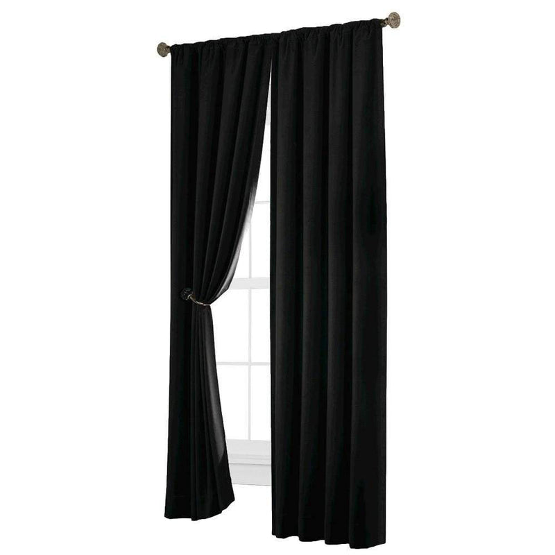 Velvet Blackout Energy Efficient Curtain Panel - Curtains