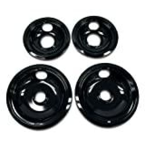 Whirlpool W10288051 Drip Pan Kit Black - Kitchen