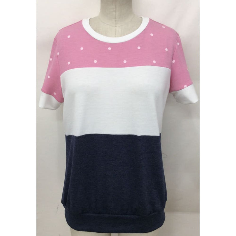 Women's 3 Polka Dot T-Shirt - Keuka Outlet