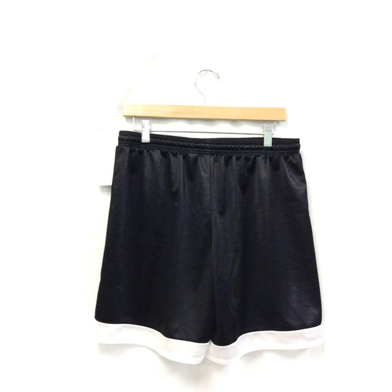 Womens Black and White Active Shorts - Womens Activewear