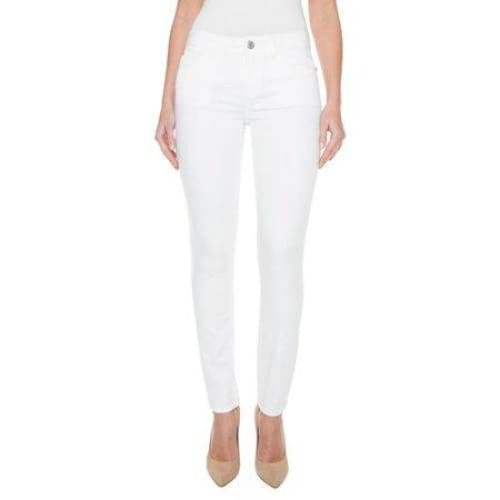 Women's Mid-Rise Skinny Jean - 8 / White - Clothing